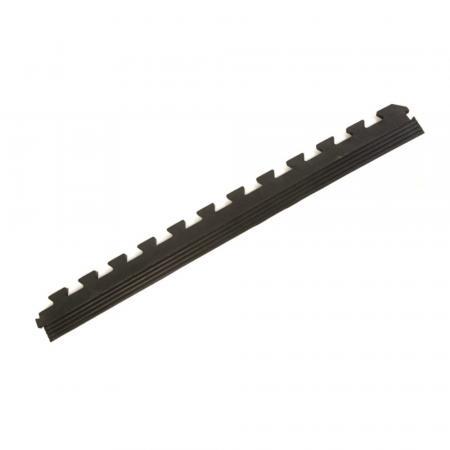 Rubber side ramp strip